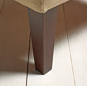 "9"" Tall Tapered Leg Oak"